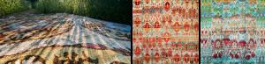 Mavyan Kundan Silk Carpets